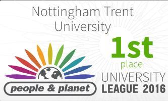 Nottingham Trent University named UK's greenest university